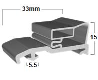 FSP178 – Custom Size Commercial Seals FSP178 – Custom Size
