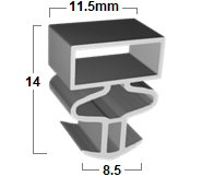 FSP186 – Custom Size Commercial Seals FSP186 – Custom Size