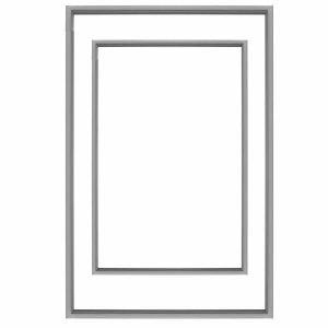 Samsung SRL450ELS – Freezer Door Seal Domestic Seals Samsung SRL450ELS – Freezer Door Seal